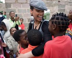 Alicia Keys in Africa