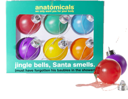 Anatomicals Jingle Bells, Santa Smells
