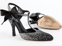 Pick up Shirley Bassey's shoes at Barnardo's