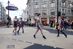 Flashwalk at Oxford Circus