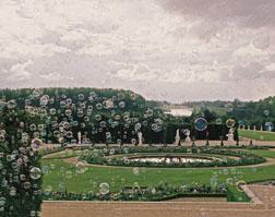 Francis Kurkdjian's  'scented bubble' installation