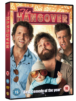 The Hangover, released on Blu-ray and DVD Now