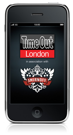 New Smirnoff & Time Out iPhone App for London
