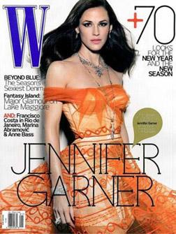 Jennifer Garner in W