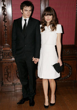 Rupert Friend and Keira Knightley