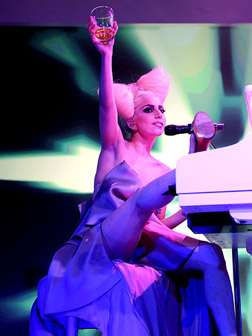 <b>Elton and Gaga Team ...</b>