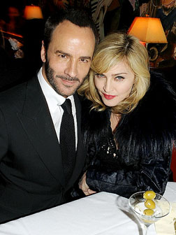 Tom Ford and Madonna