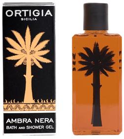 Ortigia Ambra Nera Shower Gel