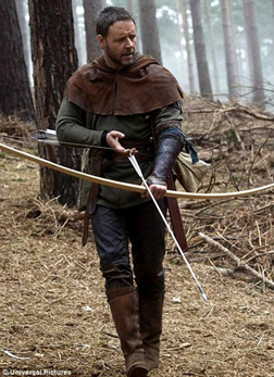 Russell Crowe as Robin Hood