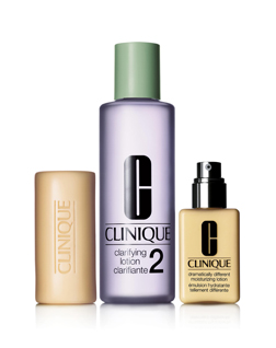Clinique's Three Step Skincare Programme