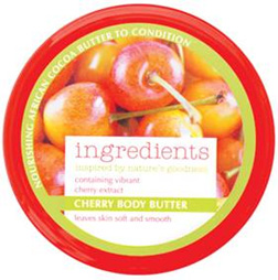 M&S Cherry Body Butter