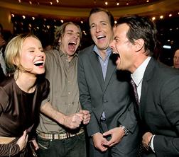 Kristen Bell , Dax Shepard, Will Arnett and Josh Duhamel
