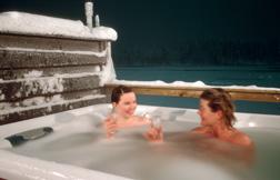 """The """"Hot Pools"""" at Hotel Harriniva"""
