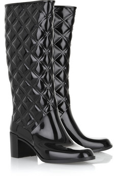 Marc Jacobs Heeled rubber Wellington boot £170