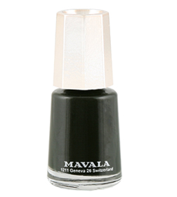 Mavala Cedar Green nail varnish