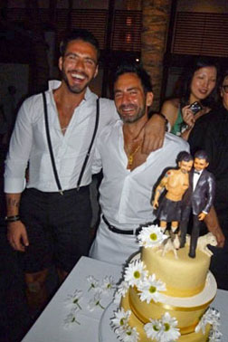 Marc Jacobs Ties the Knot with Lorenzo Martone