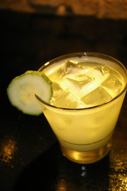 Cucumber Sour Cocktail