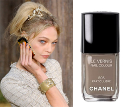 Chanel Particulière Nail Polish on the Runway