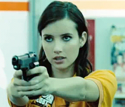 Emma Roberts in 4.3.2.1