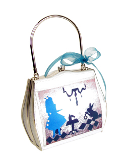 Alice In Wonderland bag by Helen Rochfort