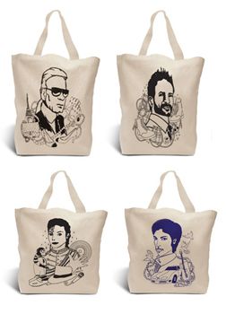 Cotton Totes Designed by Pattern People