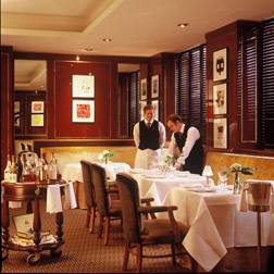 Dine at the Balmoral Hotel