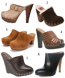 Clogs are a key trend for S/S