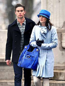 Chace Crawford and Leighton Meester
