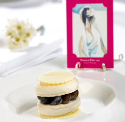 Woman in White cake