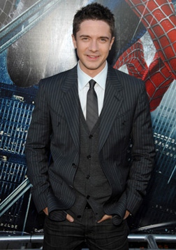 Topher Grace at the Spiderman 3 premiere