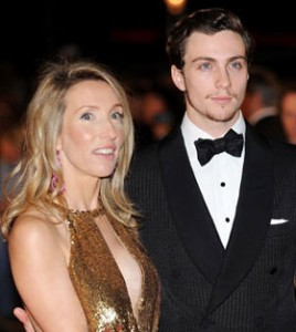 Aaron Johnson and Sam Taylor Wood
