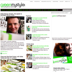 <b>Green My Style...</b>
