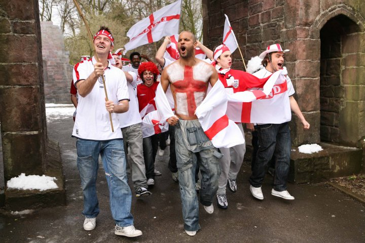 <b>Sing for England...</b>