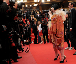 Beth Ditto at Cannes Closing Ceremony