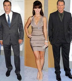 Chris Noth, Jennifer Love-Hewitt and Jason Lewis at the SATC2 premiere