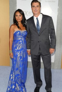 Chris Noth and Tara Lynn Wilson at the SATC2 Premiere in NY