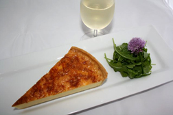 Deep Gruyere Quiche - best served with Penfolds Koonunga Hill Autumn Riesling
