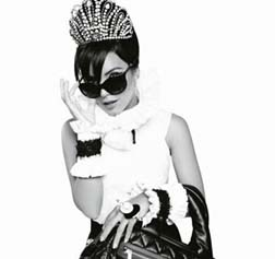 Lily Allen for Chanel