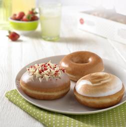 Summer Krispy Kreme Flavours