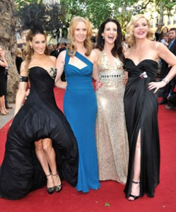 The Leading Ladies of SATC2 at the London Premiere 2010