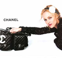 Vanessa Paradis for Chanel
