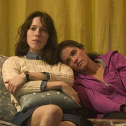 Amanda Peet and Rebecca Hall in Please Give