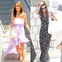Best Maxi Dresses - Alessandra Ambrosio and Eva Longoria-Parker
