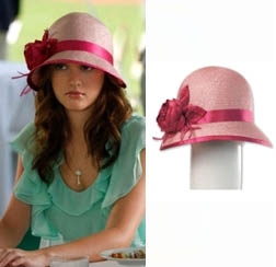 Blair - Emily Sisal Cloche Hat by Louise $245