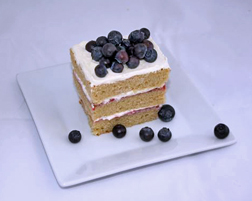 Blueberry Gateaux