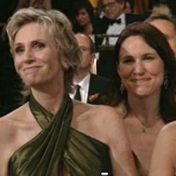 Jane Lynch and Lara Embry