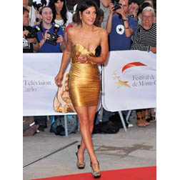 Jessica Szohr at 50th Monte Carlo TV Awards