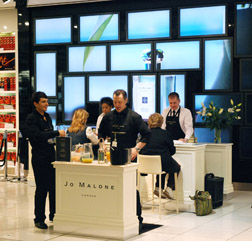 Jo Malone in World Duty Free LHR T5