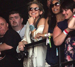 Kate Hudson at Glastonbury 2010