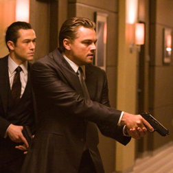Leo DiCaprio in Inception